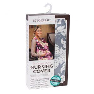 Bebe au lait nursing cover packaging