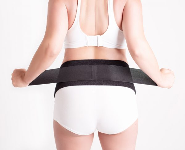 Cabea Baby belly band back