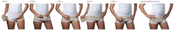 How to wear Shrinkx Hips Ultra