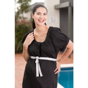 Designer Mamas Birthing Gown Classic Front