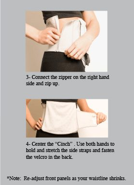 Cinch Belly Wrap Instructions Part 2