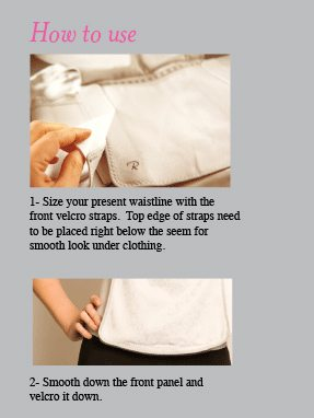 cinch belly wrap instuctions