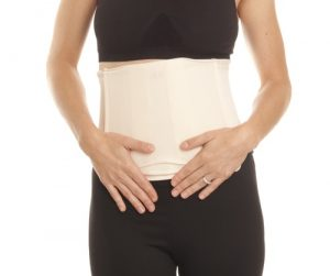 Couture Cinch Belly Wrap Front