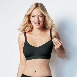 bravado body silk seamless black nursing bra