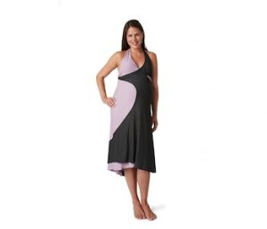 Pretty pushers transition birthing gown