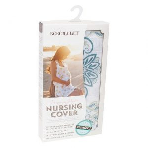 Bebe au lait muslin packaging