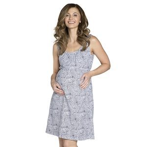 Harper sleevless maternity nursing nightie