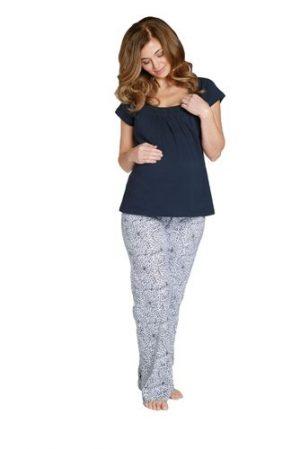 harper maternity pyjamas neckline