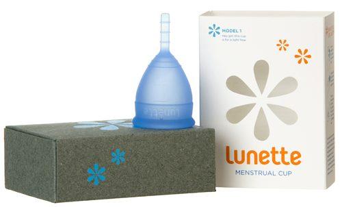 Lunette menstrual cup selene