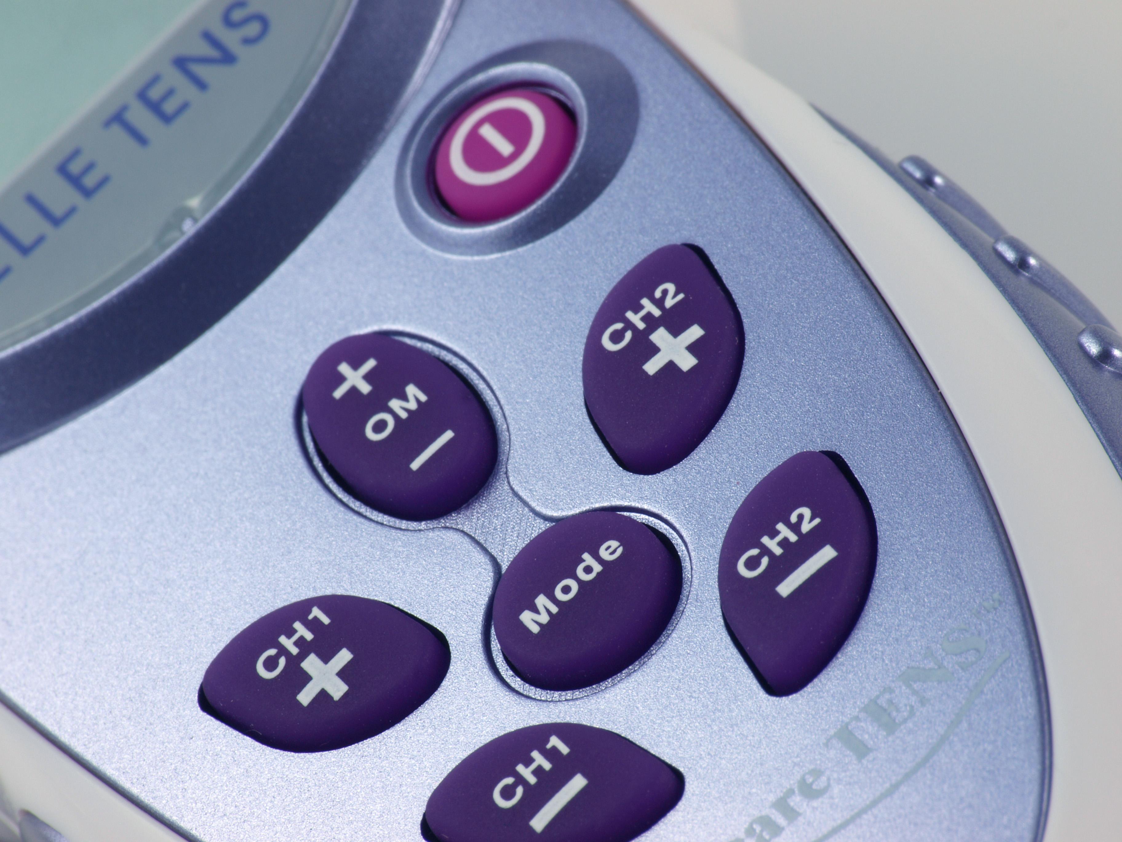 Elle TENS buttons