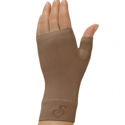 Solidea Gauntlet Micro Massage (25-32 mmHg) Camel