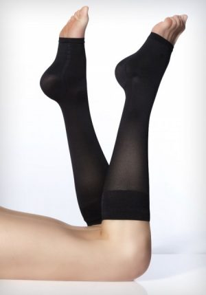 Solidea Relax Unisex Open Toe Knee Highs