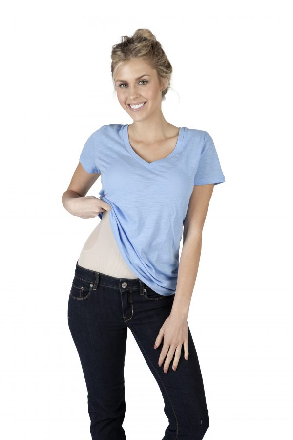 Angelica recovery garment under clothing
