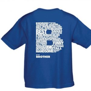 B is for brother t shirt