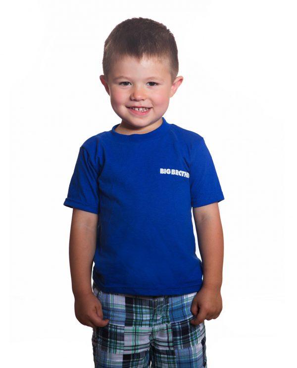 Big brother t shirt blue