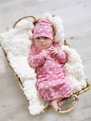 Molly romper and hat set