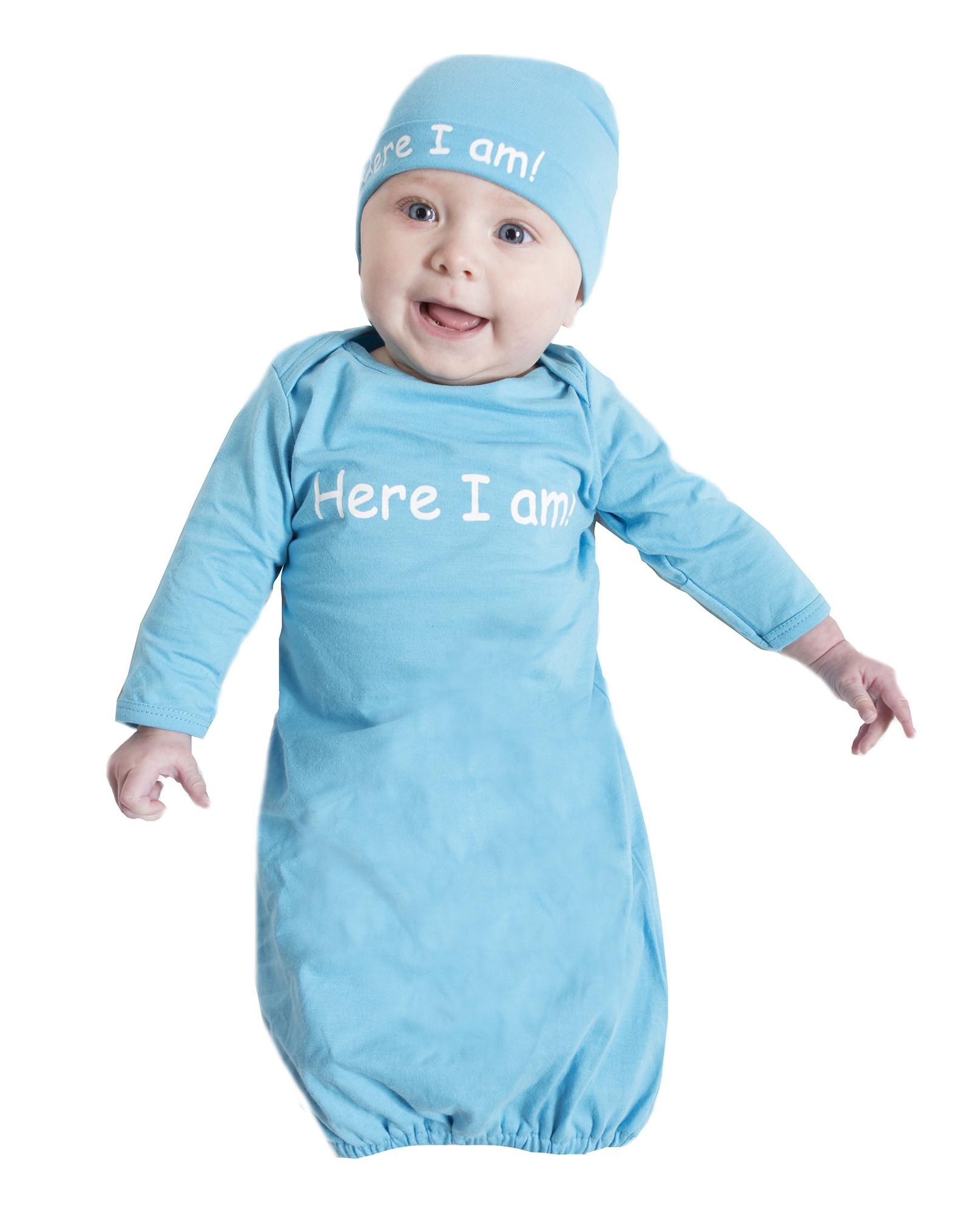 Baby romper & hat set | DueSoon Australia