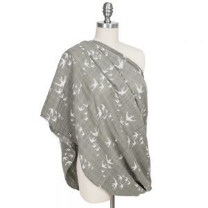 Nightingale Bebe au lait muslin nursing scarf use