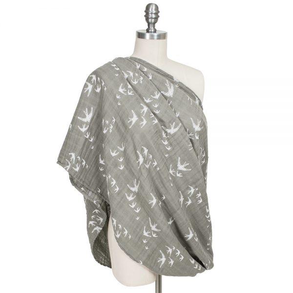 Nightingale Bebe au lait muslin nursing scarf use