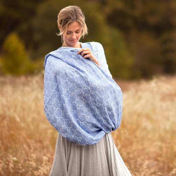 Porta Bebe au lait muslin nursing scarf use