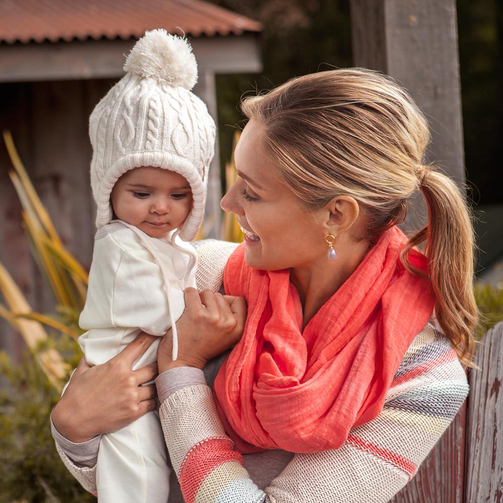 Sahara Bebe au lait muslin nursing scarf