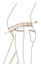 sizing image maternity support belt