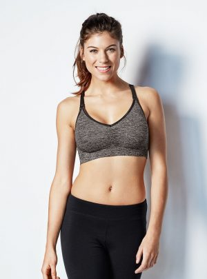 bravado body silk seamless yoga charcoal
