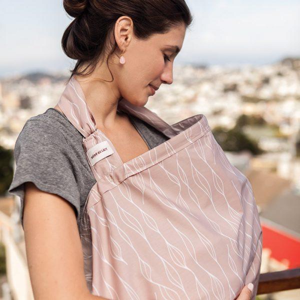 bebe-au-lait-organic-cotton-nursing-cover-blush