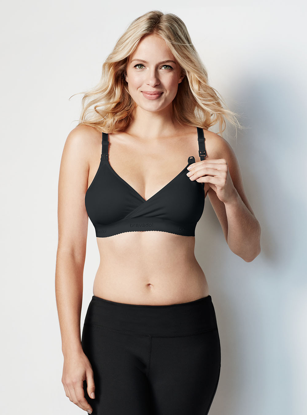 bravado original nursing bra black
