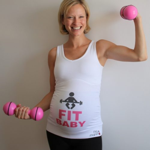 Fit Baby workout support top