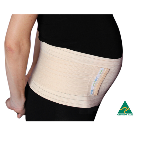 Maternity and c-section belly bands for pregnancy