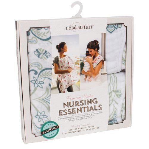 Bebe au lait Isla muslin nursing essentials