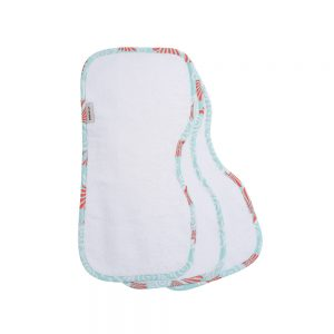 Bebe au lait burp cloths