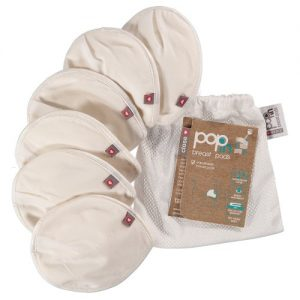 Close Pop In reusable breast pads