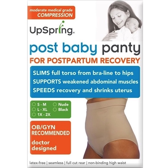 High Waist Post Baby Panty by UpSpring Baby