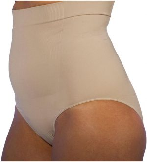 High Waist Post Baby Panty Nude