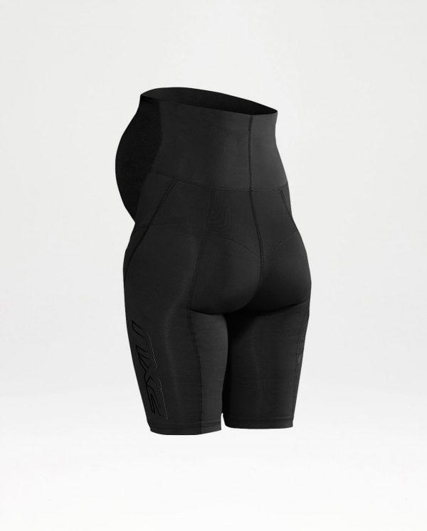 2XU Active Maternity Shorts back