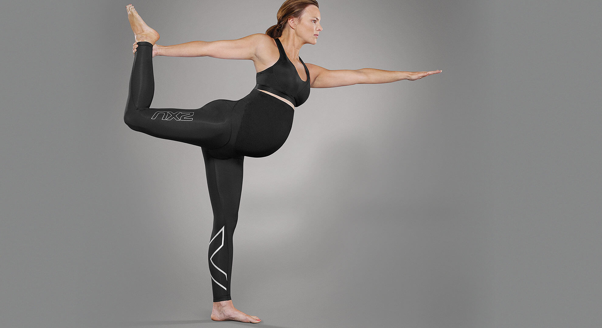 2XU Active Maternity Tights