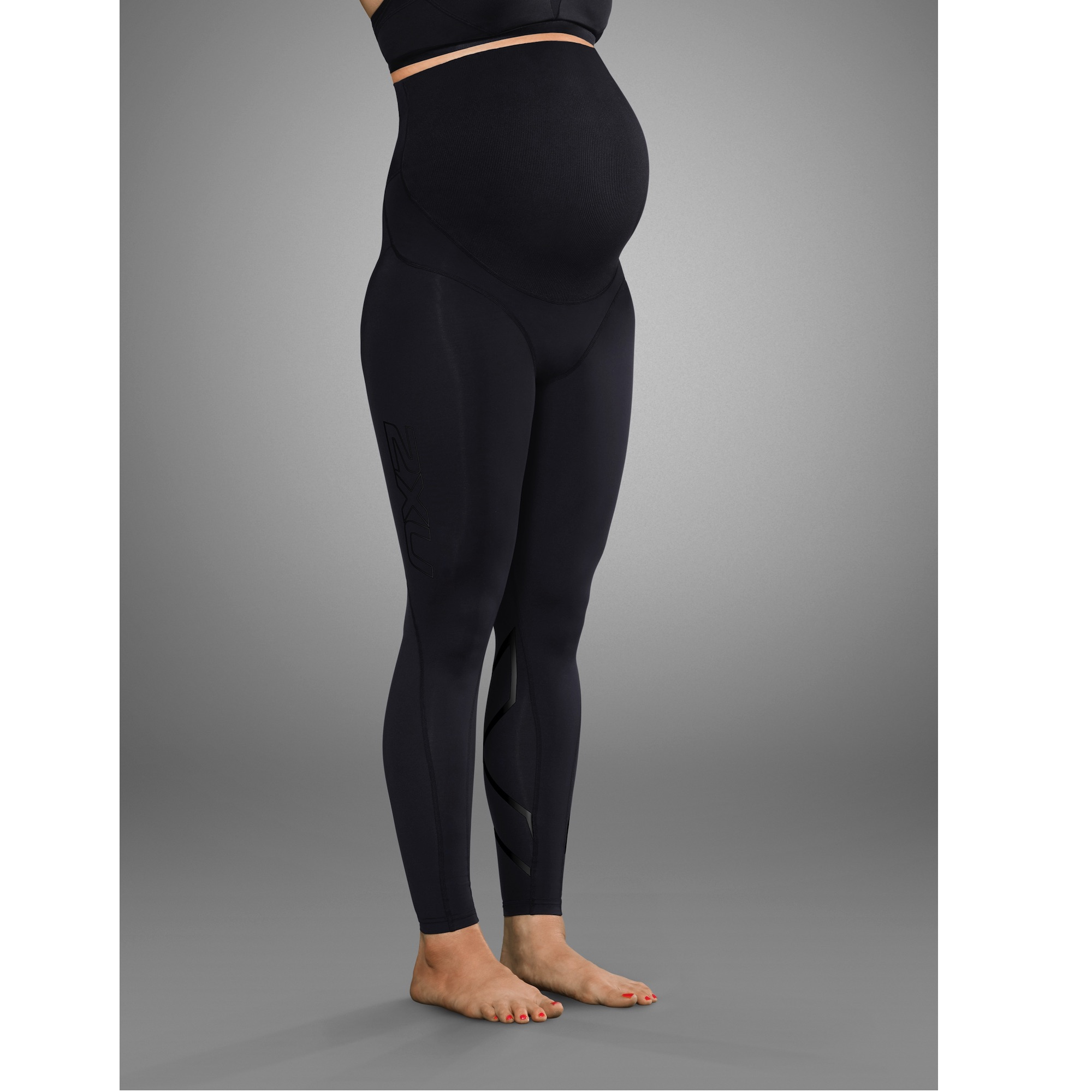 2XU Prenatal Active Maternity Tights Black