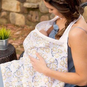 Bebe au lait muslin nursing cover Sorrento