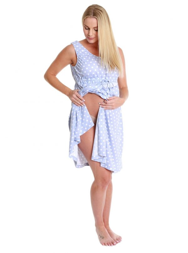 3 in 1 labour gown front flap