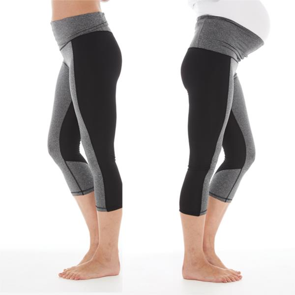 Enji Activewear 3:4 Black leggings by FertileMind