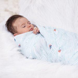 Bebe au lait Muslin Swaddle blanket