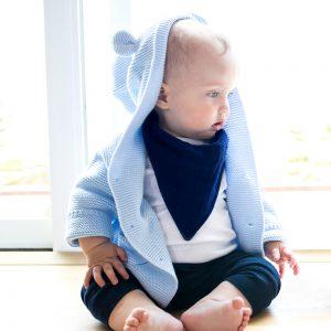 Bebe au lait oh so soft muslin bandana bib