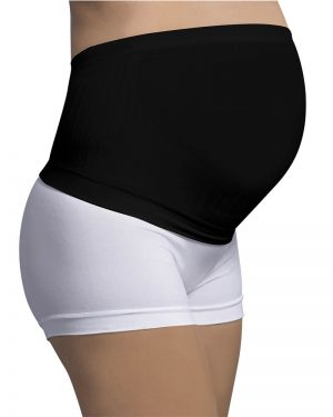 Black Carriwell Seamless Maternity Support Band