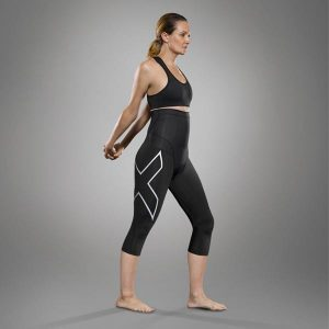 2XU Postnatal 3/4 compression tights