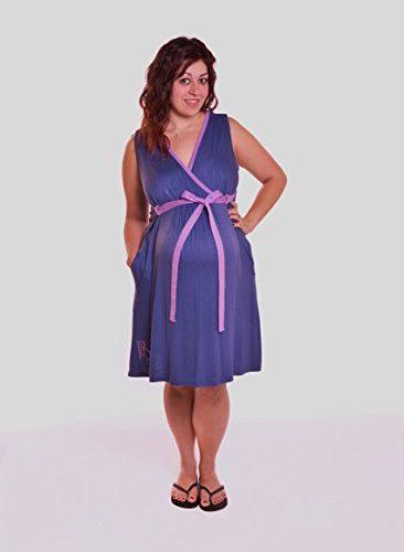 BG Style Birthing Gown Purple