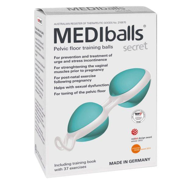 MEDIballs Secret Pelvic Floor Training Ball Double