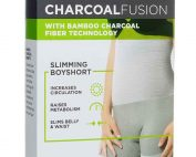 Charcoal Fusion Compression Boyshort by Upspring