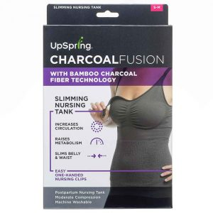 Charcoal Fusion Nursing Tank by UpSpring